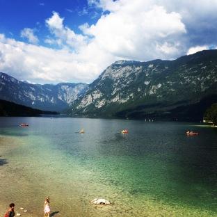 Lake Bohinj, Slovenia. Source: Courtenay Verret
